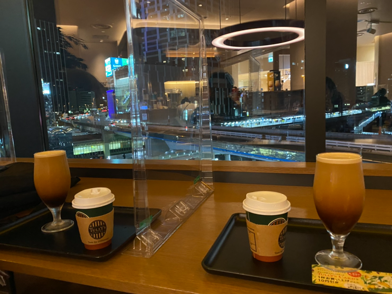 タリーズ 東急プラザ 渋谷